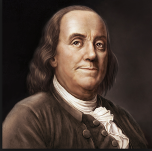 Benjamin Franklin, aka my past life
